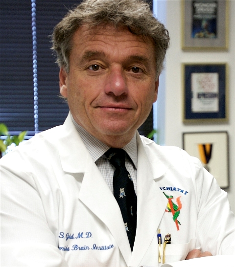 Mark Gold, M.D., psychiatry chairman at the UF College of Medicine and the McKnight Brain Institute.  Photo by Sarah Kiewel