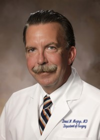 David Mozingo, M.D., professor of surgery and director of the Shands Burn Center at UF.