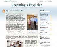 New student blog documents journey through UF med school
