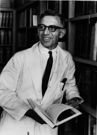 Dr. Suter established established an experimental educational program at Harvard University that caught the attention of George Harrell, M.D., the first dean of the UF College of Medicine. Photo courtesy of UF Digital Collections.