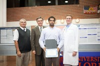 Jason Joseph, MS3, received first place at last year's event.