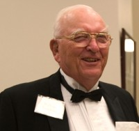 William Enneking, M.D., at the UF College of Medicine's 50th anniversary banquet.