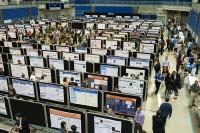 Students and faculty presented more than 460 research posters Feb. 9 at the Stephen C. O'Connell Center. Photo by Jesse S. Jones