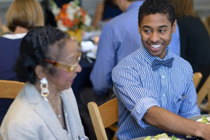 Cullen Banks Scholar works hard to live up to his example