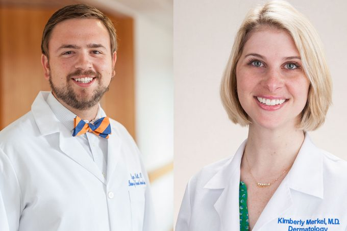 Two UF College of Medicine alumni-turned-faculty members named 2018 teachers of the year