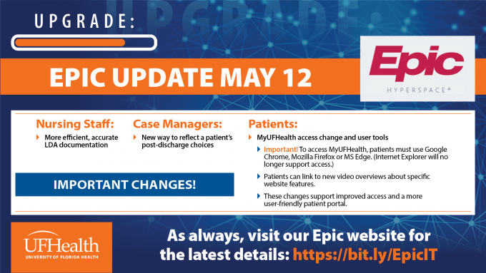 May 12 Epic update: What's new